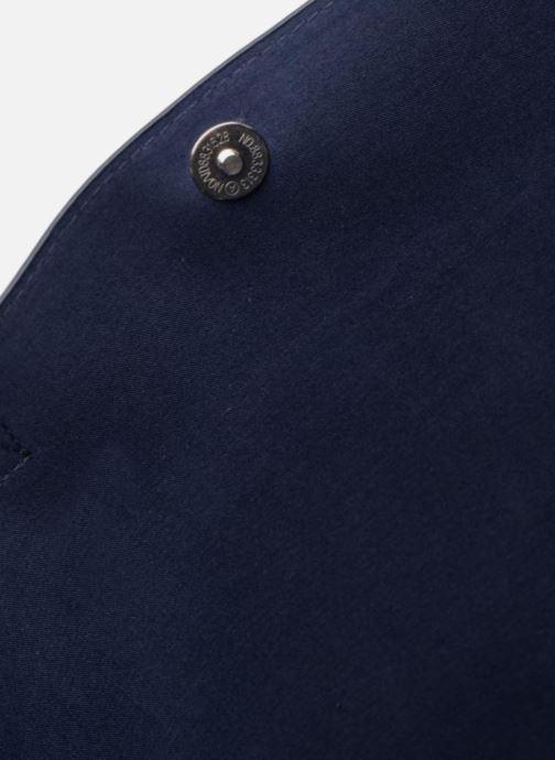 Sacs à main Monoprix Femme CABAS PU VERNI Bleu vue derrière