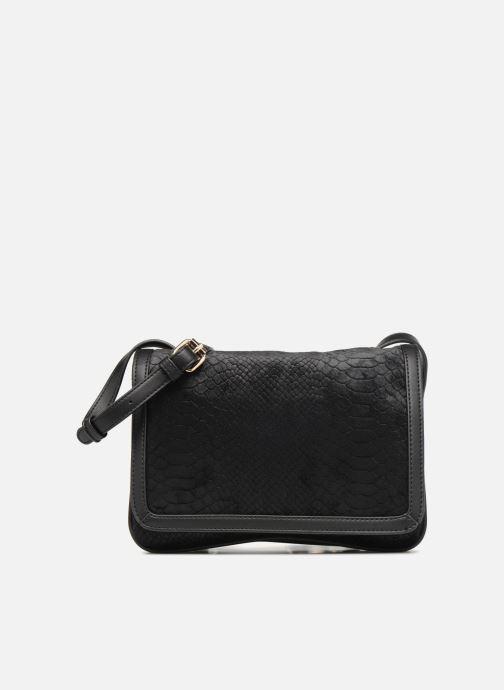 Sacs à main Monoprix Femme CROSSBODY VELOURS 2 ZIP Noir vue détail/paire