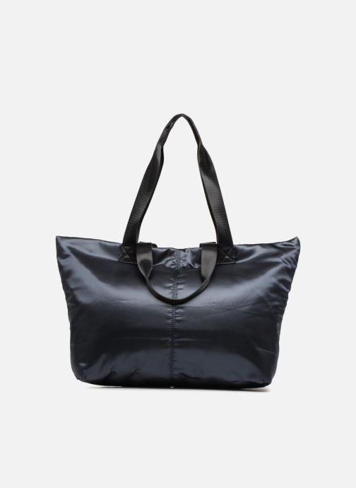 Handtassen Monoprix Femme CABAS SATIN UNI Blauw voorkant