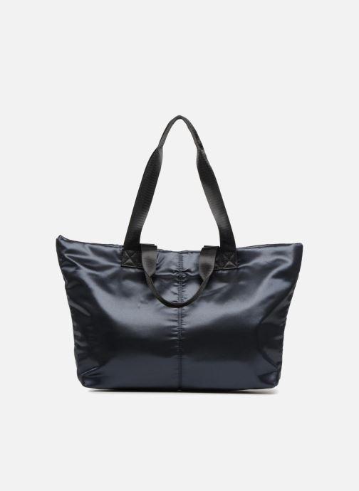 Handtassen Monoprix Femme CABAS SATIN UNI Blauw detail