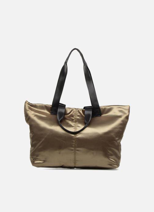 Handtassen Monoprix Femme CABAS SATIN UNI Groen detail
