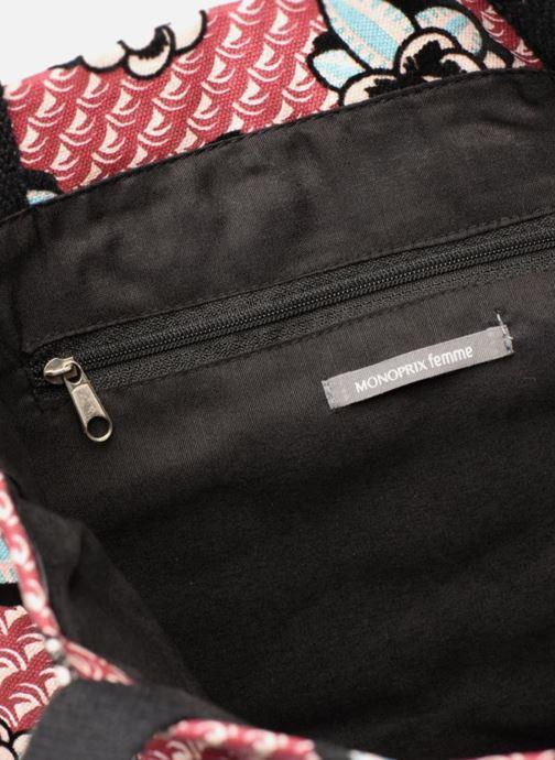 Sacs à main Monoprix Femme TOTE BAG BARBES Rouge vue derrière