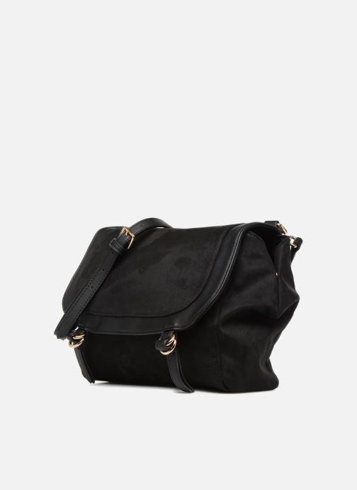 Handtassen Monoprix Femme BESACE BI MATIERE Zwart model