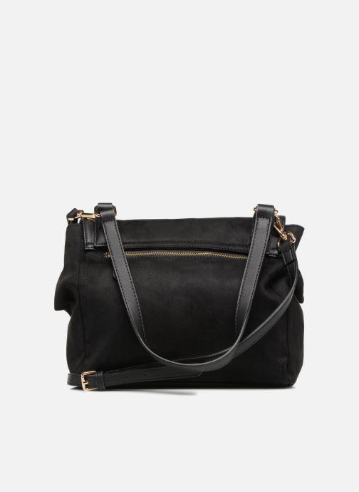 Handtassen Monoprix Femme BESACE BI MATIERE Zwart voorkant
