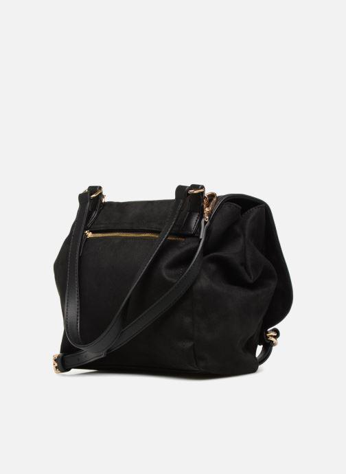 Handtassen Monoprix Femme BESACE BI MATIERE Zwart rechts