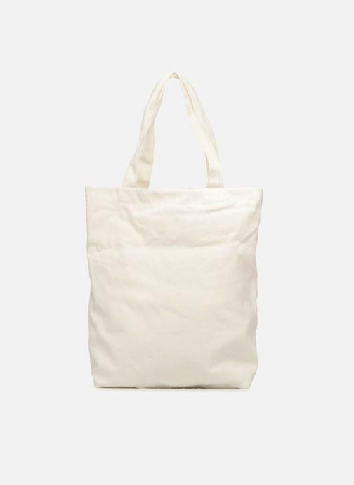 Sacs à main Monoprix Femme TOTE BAG I LOV MONOPRIX Blanc vue face