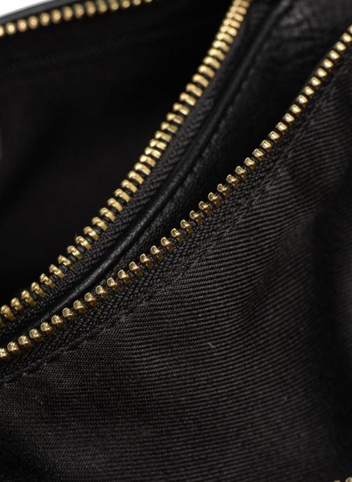 Handtassen Monoprix Femme CROSSBODY PU 2 ZIP BI MATIERE Zwart achterkant