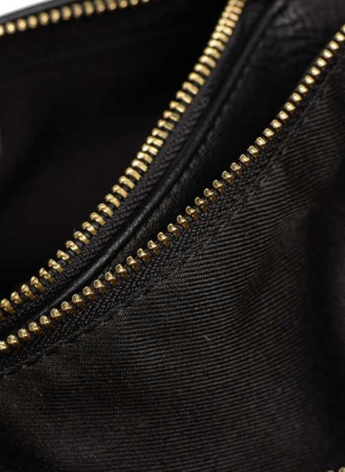 Sacs à main Monoprix Femme CROSSBODY PU 2 ZIP BI MATIERE Noir vue derrière