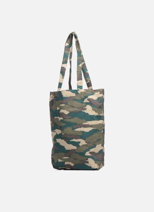 Handtaschen Monoprix Femme TOTE BAG CAMOUFLAGE grün schuhe getragen