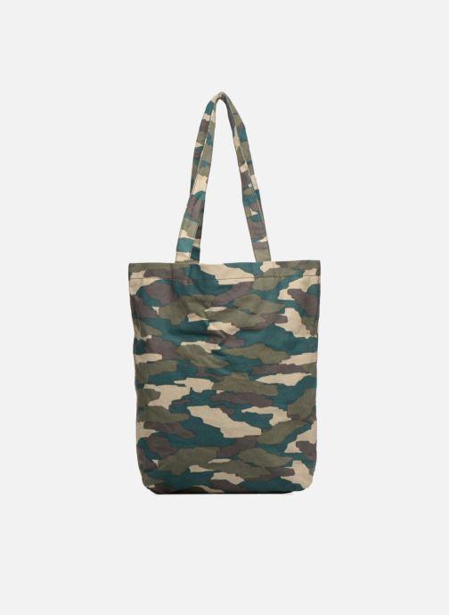 Handtassen Monoprix Femme TOTE BAG CAMOUFLAGE Groen voorkant