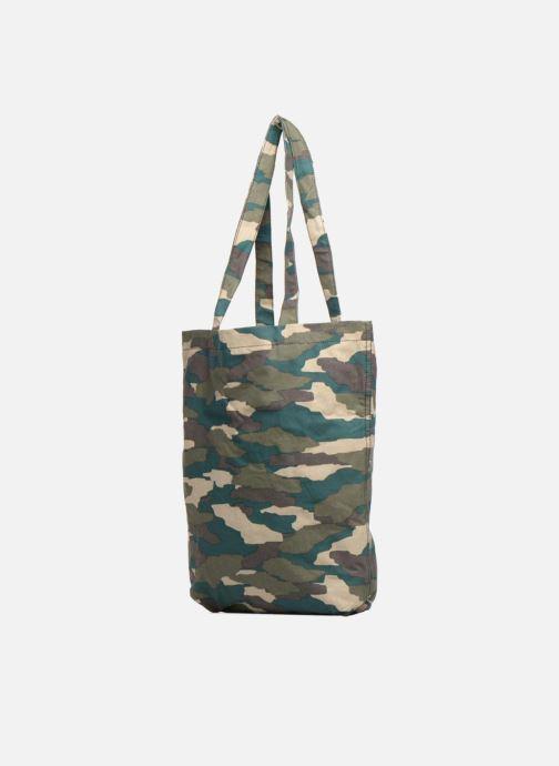 Handtaschen Monoprix Femme TOTE BAG CAMOUFLAGE grün ansicht von rechts