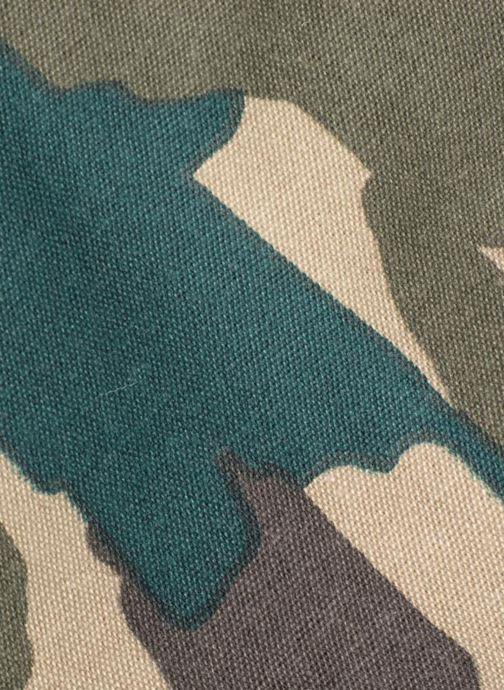 Bolsos de mano Monoprix Femme TOTE BAG CAMOUFLAGE Verde vista lateral izquierda