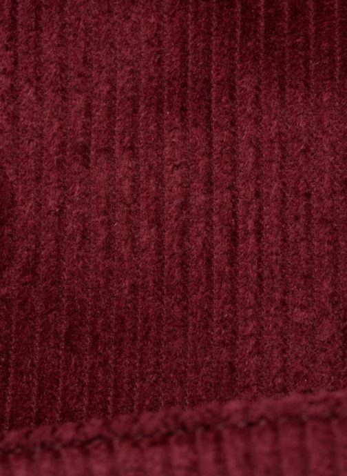 Bolsos de mano Monoprix Femme TOTE BAG VELOURS Rojo vistra trasera
