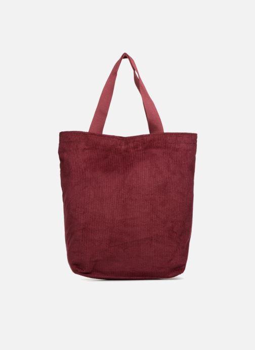 Bolsos de mano Monoprix Femme TOTE BAG VELOURS Rojo vista de detalle / par