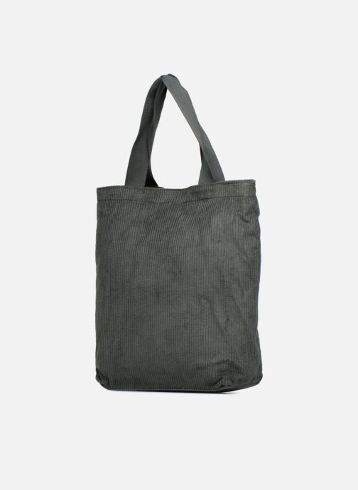 Monoprix verde Borse Tote Velours Chez Femme Bag 352572 rwagqB6r