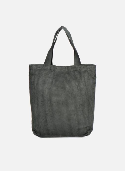 Borse Monoprix Femme TOTE BAG VELOURS Verde vedi dettaglio/paio