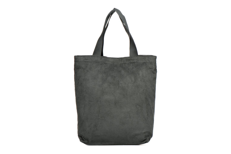 Sacs à main Monoprix Femme TOTE BAG VELOURS Vert vue détail/paire