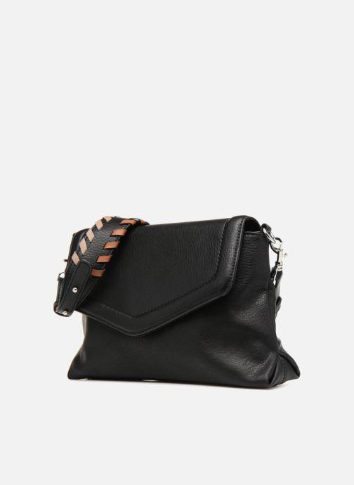 Handtassen Monoprix Femme CROSSBODY PU ANSE FANTAISIE Zwart model
