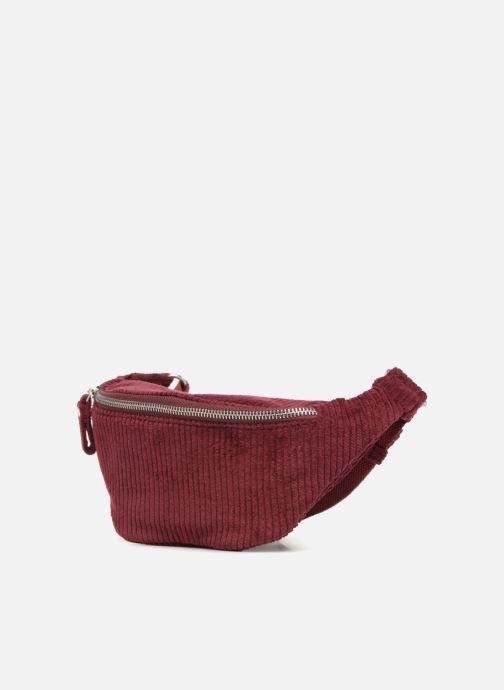 Cote Petite rouge Femme Monoprix Maroquinerie Velours Banane IqwU11xtXB