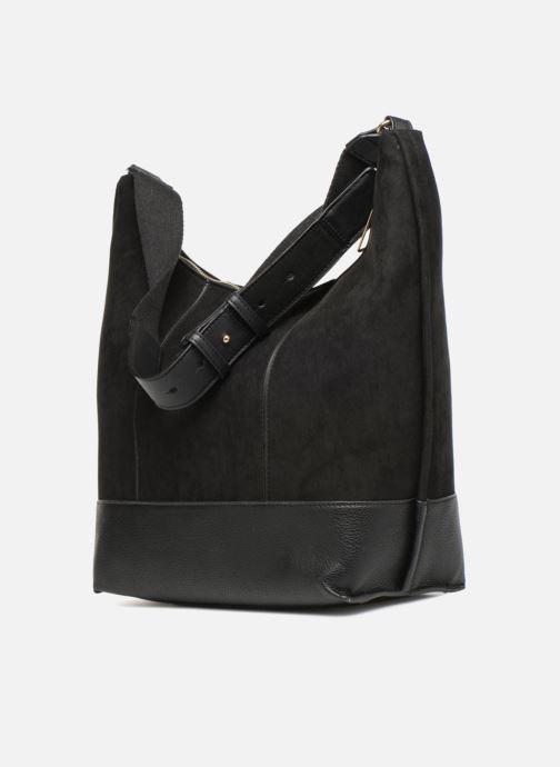 Handtaschen Monoprix Femme BESACE PORTE EPAULE schwarz ansicht von rechts