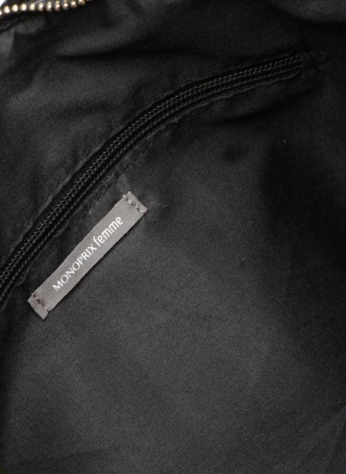 Handtaschen Monoprix Femme BESACE PORTE EPAULE schwarz ansicht von hinten