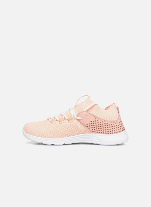 Sneaker Monoprix Fit BASKET MONOPRIX FIT F rosa ansicht von vorne