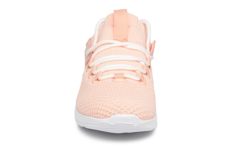 Baskets Monoprix Fit BASKET MONOPRIX FIT F Rose vue portées chaussures