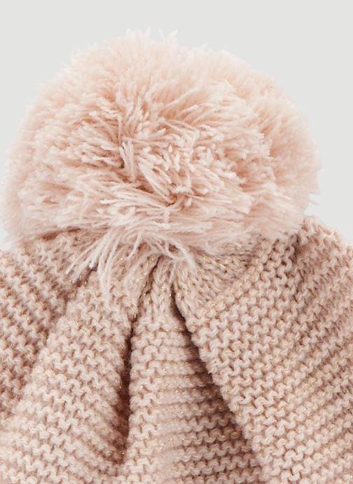 Muts Monoprix Kids Bonnet point mousse Roze model