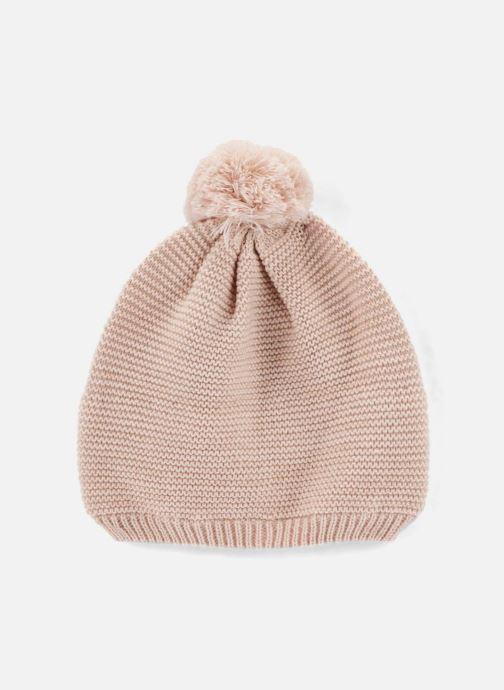Bonnets Monoprix Kids Bonnet point mousse Rose vue détail/paire