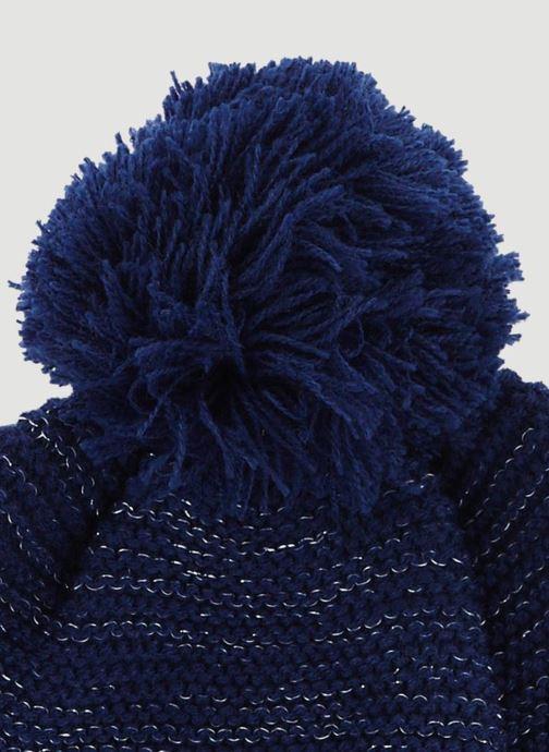 Mütze Monoprix Kids Bonnet point mousse blau schuhe getragen