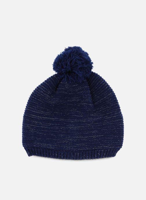 Bonnets Monoprix Kids Bonnet point mousse Bleu vue détail/paire