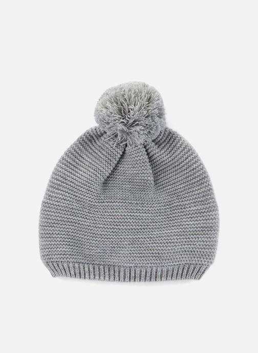 Mütze Monoprix Kids Bonnet point mousse grau detaillierte ansicht/modell