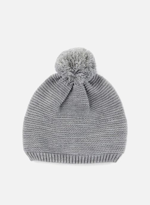 Bonnets Monoprix Kids Bonnet point mousse Gris vue détail/paire