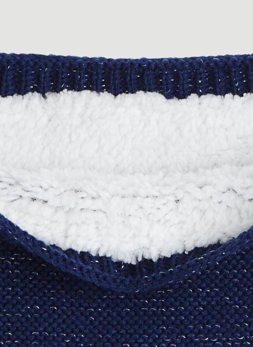 Echarpes et Foulards Monoprix Kids Tour du cou point mousse Bleu vue portées chaussures