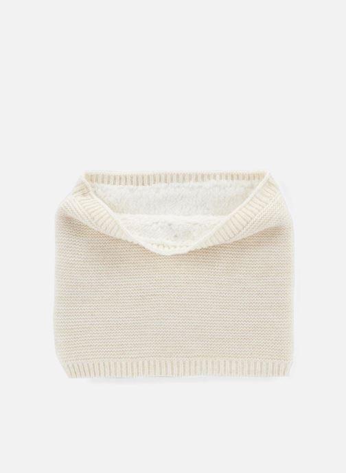 Sciarpa y foulard Monoprix Kids Tour du cou point mousse Bianco vedi dettaglio/paio
