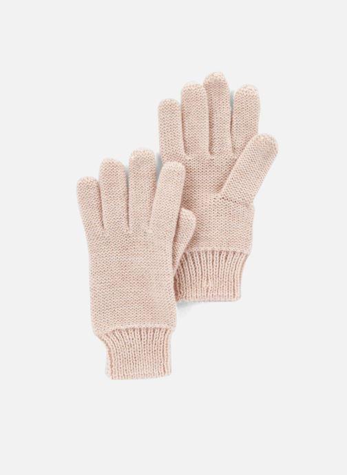 Handschoenen Monoprix Kids Gants point mousse Roze detail