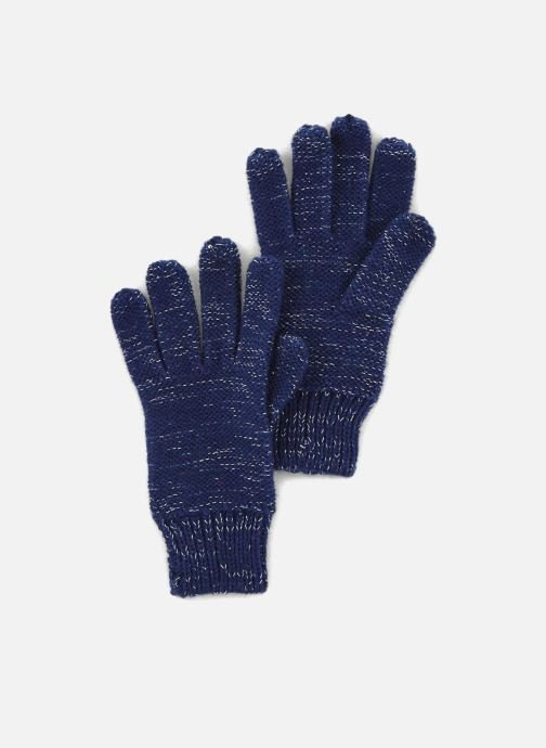 Gloves Monoprix Kids Gants point mousse Blue detailed view/ Pair view