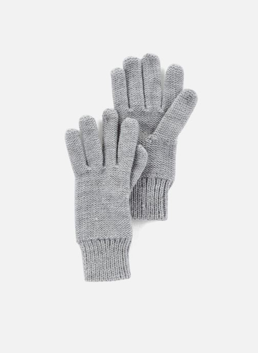 Gloves Monoprix Kids Gants point mousse Grey detailed view/ Pair view