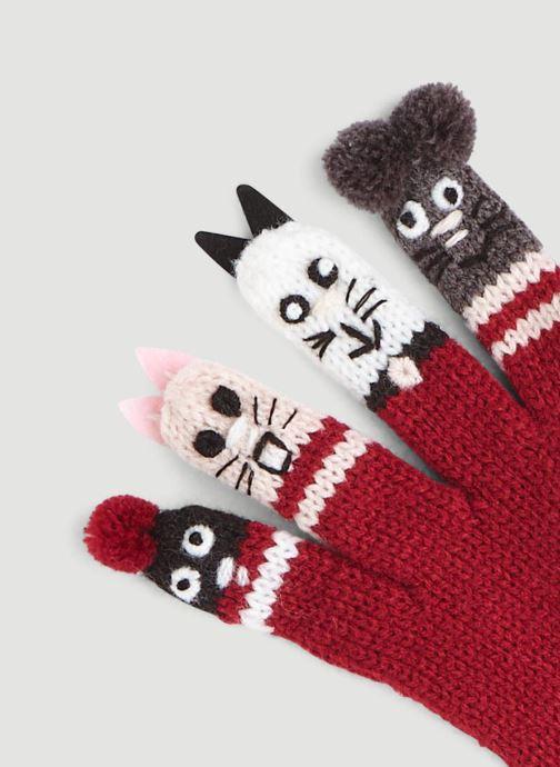 Handschoenen Monoprix Kids GANTS MARIONNETTES Rood model