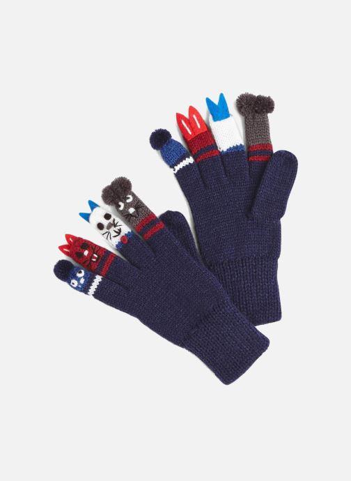 Handschuhe Monoprix Kids GANTS MARIONNETTES blau detaillierte ansicht/modell