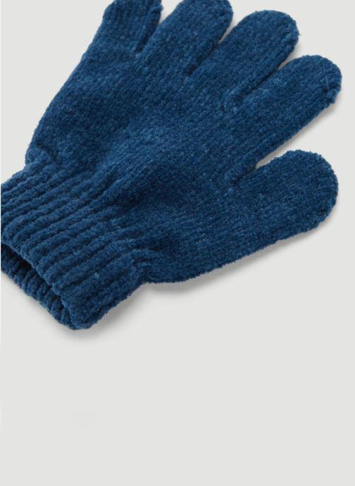Handschuhe Monoprix Kids GANTS CHENILLE blau schuhe getragen
