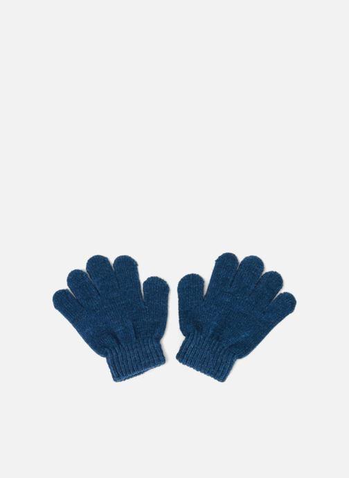 Gants Monoprix Kids GANTS CHENILLE Bleu vue détail/paire