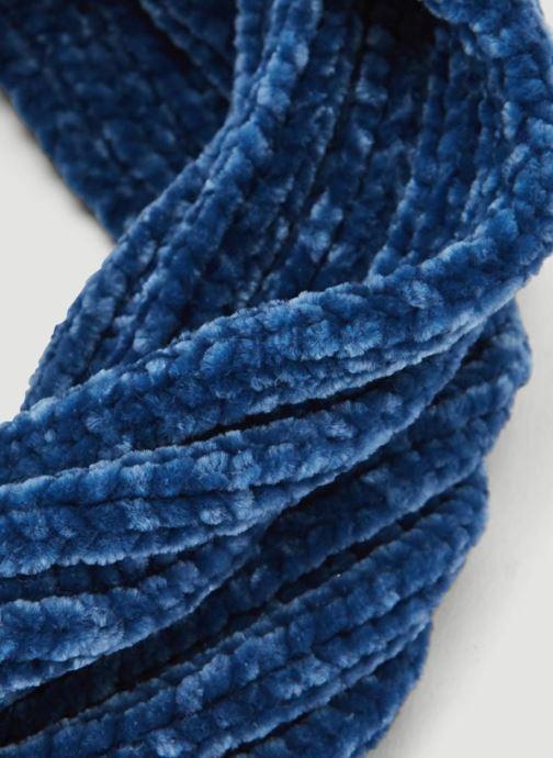 Schal Monoprix Kids TOUR DE COU CHENILLE blau schuhe getragen