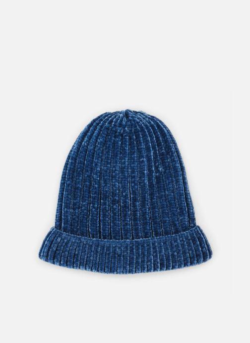 Bonnets Monoprix Kids BONNET CHENILLE Bleu vue détail/paire