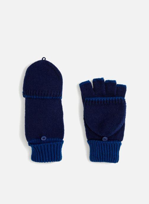 Gants Monoprix Kids MITAINE BICOLORE Bleu vue détail/paire