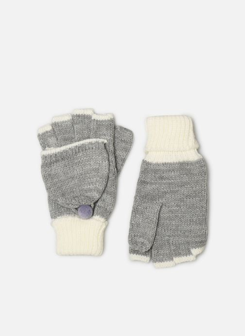 Gloves Monoprix Kids MITAINE BICOLORE Grey detailed view/ Pair view