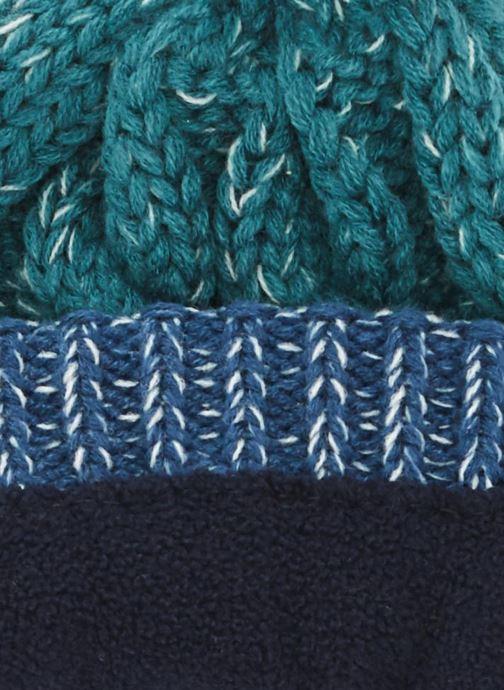 Bonnets Monoprix Kids BONNET BICOLORE Bleu vue portées chaussures