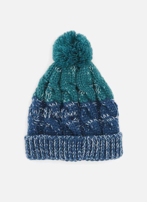 Bonnets Monoprix Kids BONNET BICOLORE Bleu vue détail/paire