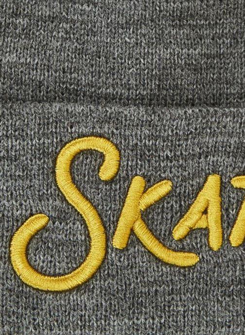 Mütze Monoprix Kids BONNET BRODE grau schuhe getragen