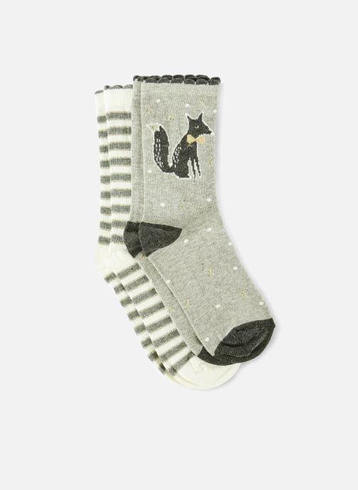 Socken & Strumpfhosen Monoprix Kids LOT DE 2 CHAUSSETTES RENARD RAYE grau detaillierte ansicht/modell